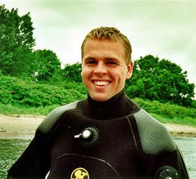 Kenneth en glad dykker